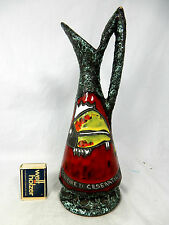 "Well shaped  60´s Italian ""Alla Moda""  pottery Keramik Vase "" Cesenatico """