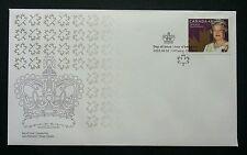 Canada Queen Elizabeth II Coronation 2003 Royal Crown (stamp FDC)