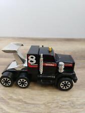 Early 1980s Vintage Tonka GMC Truck Clutch Popper Semi Drag Racer Black