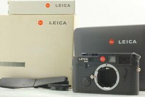 [UNUSED w/ BOX] Leica M6 TTL 0.85 Black Rangefinder 35mm Camera Body From Japan