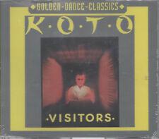 Koto Visitors Golden Dance Classics Maxi CD NEU Visitors Alien Version