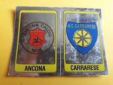 SCUDETTO ANCONA-CARRARESE ALBUM CALCIATORI PANINI 1986/87  rec
