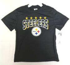c9d932b90 NFL Pittsburgh Steelers T-shirt Logo on Black Short Sleeve Size 3t Youth  Gerber