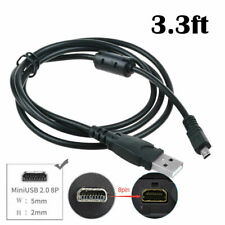 Fite ON USB Battery Charger Data SYNC Cable Cord For Nikon Coolpix P510 camera