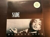 "Sade ""Diamond Life"" Oz Press Gatefold Cover Epic Label W/ Hype Stika VG+/ Ex Con"