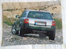 Audi allroad quattro 2.5TDi press photo Feb 2000 v4