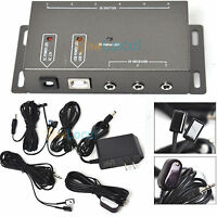 Wireless Infrared IR Signal Remote Extender Repeater 6 Emitters 1 Receiver US