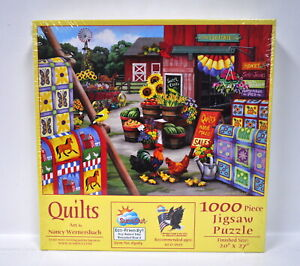 Quilts Jigsaw Puzzle 1000 Piece