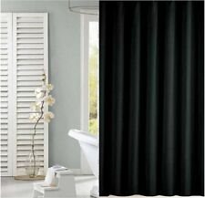 Solid black shower curtain 2m*2.4m new free shipping