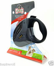 Best Heavy Duty Retractable Dog Leash By PUPZI, 16Ft Up to 110lbs, Free Shipping