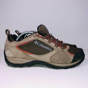 Columbia Men's Access Point II Tech Lite Waterproof Hiking Mid Brown 9.5 Wide