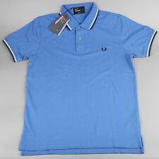 BM 3600X Size XXL Hot Men's Tipped Pique Polo Casuals Slim Fit Sky Blue Color
