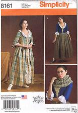 18th Century Scottish Highlander Gown Stomacher Sewing Pattern 14 16 18 20 22