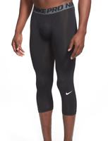 Nike Black Pro Cool Compression Four-Way Stretch Tights Men's Size M 69708