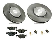 Mercedes W202 W210 C43 AMG E55 AMG Complete Front Brake KIT Pads Rotors O.E.M.