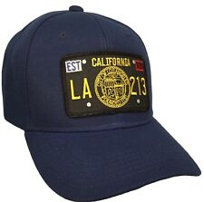 City of Los Angeles Seal Hat Color Navy Blue Adjustable