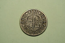 PHILIPPE V  2 REALES ARGENT  1737