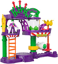 Fisher Price Gbl26 Imaginext Dc Super Friends Joker Laff Factory Playset Multico