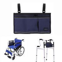 Wheelchair Bag ,Walker Bag, Rollator Bag Armrest Pouch iPhone Pouch Holder Carry