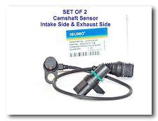 Set of 2 Engine Camshaft Position Sensor Intake Side & Exhasut Side For:BMW