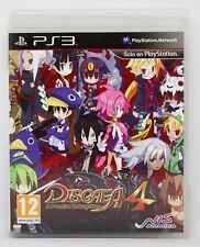 DISGAEA 4 A PROMISE UNFORGOTTEN PLAYSTATION 3 PS3 PLAY STATION PAL ESPAÑA
