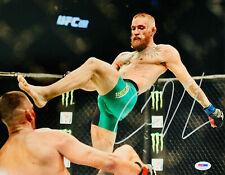 Conor McGregor signed UFC 11x14 Photo PSA