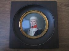 Tableau Miniature d'Aimée Zoe Lizinka de Mirbel Epoque 1816