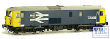 4D-006-001 Dapol OO Scale BR Class 73 105 Large Logo Blue
