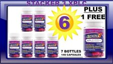 7 Stacker3 3 XPLC 20 X 6 Bottles 120 Weight Loss (6 +1 FREE)140 Capsules 10/2022
