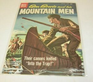 DELL Western #14 1958 Vintage Comics Comic Book Ben Bowie and his MOUNTIAN MEN