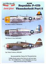 Lifelike Decals 1/48 REPUBLIC P-47D THUNDERBOLT Part 8