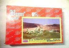 Soldatini BUM Mey Sword DAK Support Platoon Ref. 172372 plastica & resina 1:72