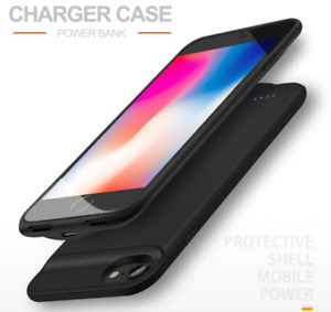 Battery Charger Case For iPhone 6 7 8 6s Plus Power Bank Charging Cover External