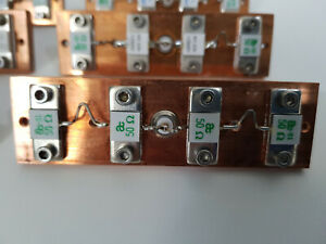 1000W 1kW RF Widerstand 50 Ohm Kombination aus 4x 250W Kupferplatte BNC Anschuss