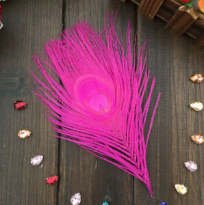 4-6inches DIY Peacock Feather Eyes Earrings Decoration Free shipping 10-100Pcs
