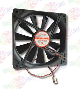 Evercool 140mm x 25mm Ball Bearing Power Supply Fan 2 Pin CONNECT EC14025M12CA-2
