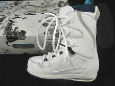 New Burton Sapphire Snowboard Boots! Us 6, Uk 4, Euro 36.5, Mondo 23 *White*