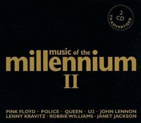Music of the Millennium 2 Queen, U2, Supertramp, Lenny Kravitz, Sting, .. [2 CD]