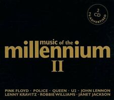 Music of the Millennium 2 Queen, U2, Supertramp, Lenny Kravitz, Sting, .. [2 CD]