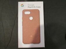 Google Fabric Case Cell Phone Case for Pixel 3xl Pink Moon Fabric New Oem Ga0050