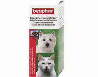 Beaphar Tear Stain Remover, For All Dog, Cats, Puppies and Kittens