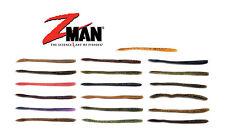 Z-Man Finesse WormZ 7 in Worm 8 pack Zman Soft Plastic Worm Bass Trout Bait