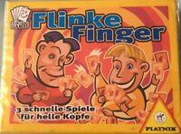 Flinke Finger - 3 schnelle Spiele für helle Köpfe (1998) Piatnik Neu & OVP