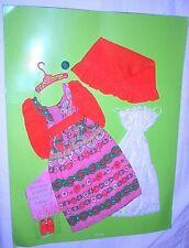 Vintage 1972 Francie Casey Twiggy Peach Treats Outfit 3285 MOC Mint!