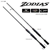 NEW Shimano ZODIAS 1610MH-2 Medium Heavy Freshwater Bass Baitcasting Rod Pole