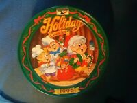 Vintage Tin Box from 1996 Keebler Elf Holiday Cookies Empty  clean