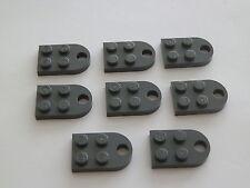 LEGO 3176# PIASTRA 8x 3x2 grigio nuovo grigio scuro 8129 10233