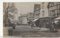 Upton on Severn, High Street, 1910 Real Photo Postcard, B499