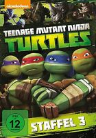 TEENAGE MUTANT NINJA TURTLES-SEASON 3  2 DVD NEU