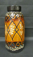 Vases Brown Date-Lined Ceramics (1960s & 1970s)